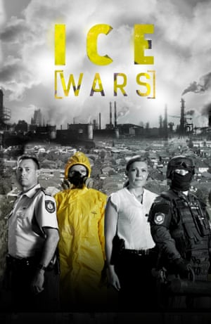 A promotional poster for Ice Wars.