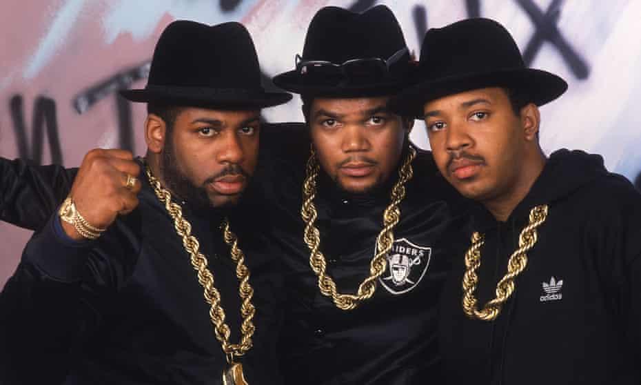Run-DMC in their prime: Jam Master Jay aka Jason Mizell, Run aka Joseph Simons and DMC aka Darryl McDaniels