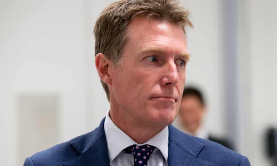 Australia's minister for industry, science and technology Christian Porter