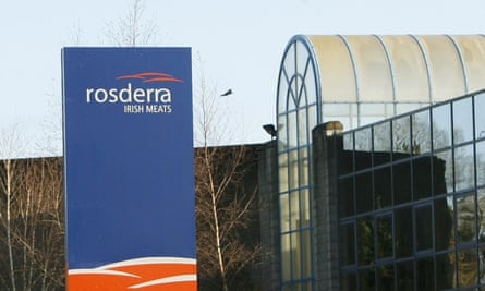 The head office of Rosderra Meats Plant in Edenderry, Ireland