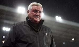 Steve Bruce has been out of work ever since he was sacked by Aston Villa in early October