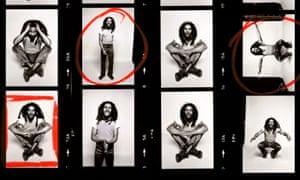 Bob Marley at Allan Ballard's studio in Primrose Hill, London.
