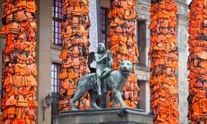 Ai Weiwei's installation at Berlin's Konzerthaus