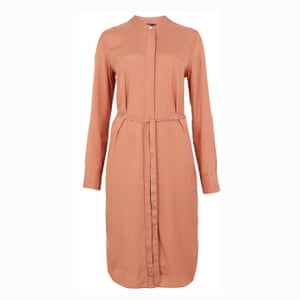 The day dress A shirt style in silky material; £59, marksandspencer.com.
