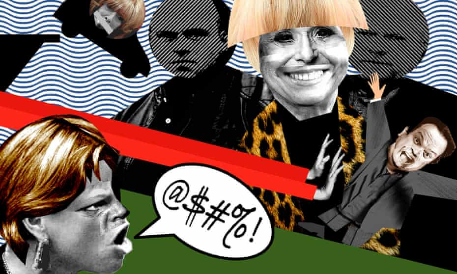 Suds law … (clockwise from top left) Gail Platt, Peggy Mitchell,Barry Evans, Janice Battersby
