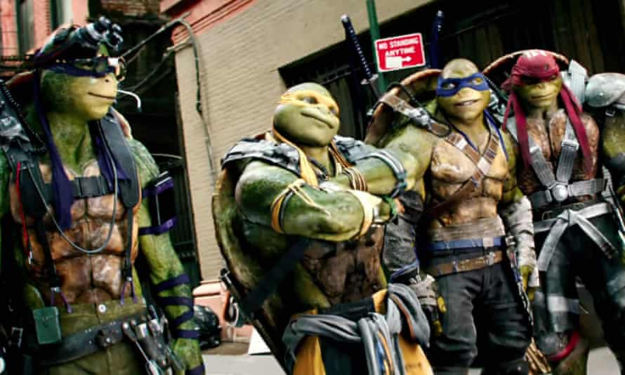 'This is the dumbest thing ever' … a scene from Teenage Mutant Ninja Turtles: Out of the Shadows.
