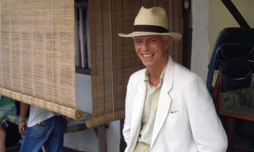 David Bowie in Singapore in 1983