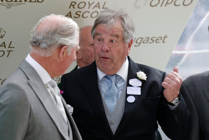 Image result for Sir Michael Stoute confirms no one can train racehorses without a team of top handler riders. We can't do it without thhem