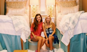 Abby Bozeman and Lindy Goodson's freshman dorm room isn't an outlier for Generation Z.