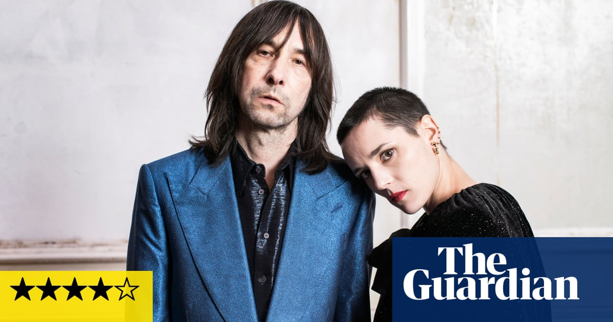 Bobby Gillespie and Jehnny Beth: Utopian Ashes review – a welcome surprise