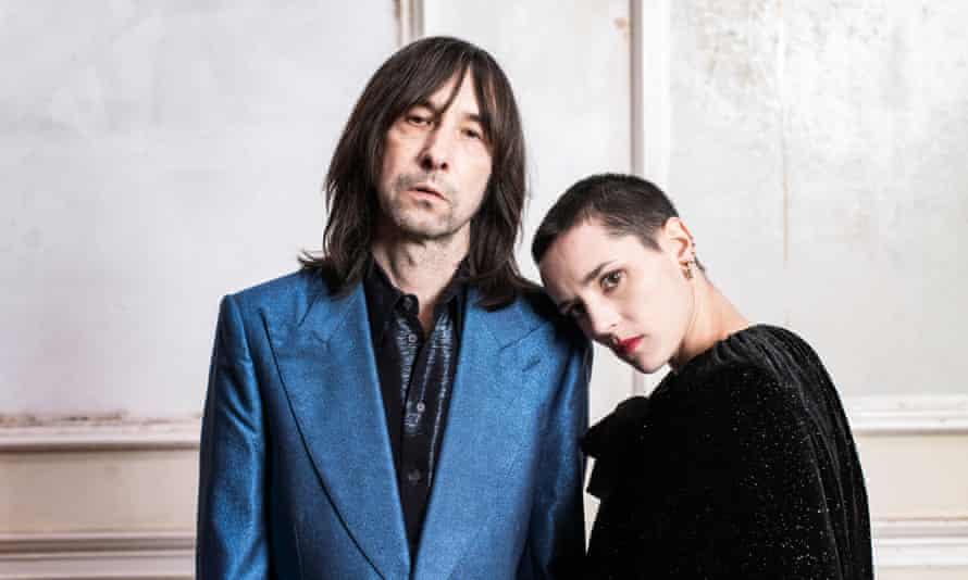 Bobby Gillespie and Jehnny Beth.