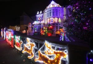 The Most Festive Houses In Britain In Pictures Life And