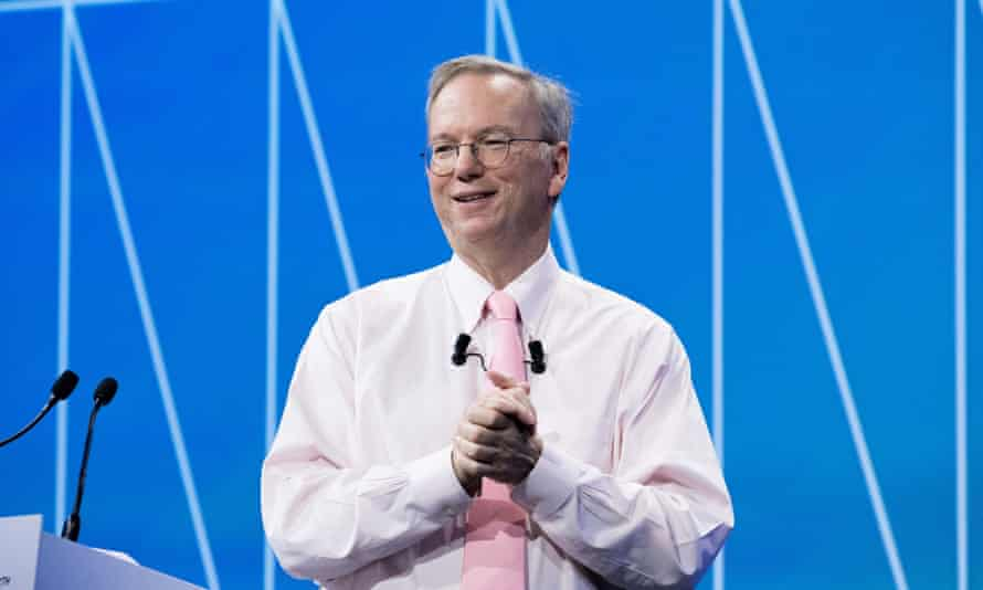 Eric Schmidt: 'I believe that the time is right in Alphabet's evolution for this transition.'