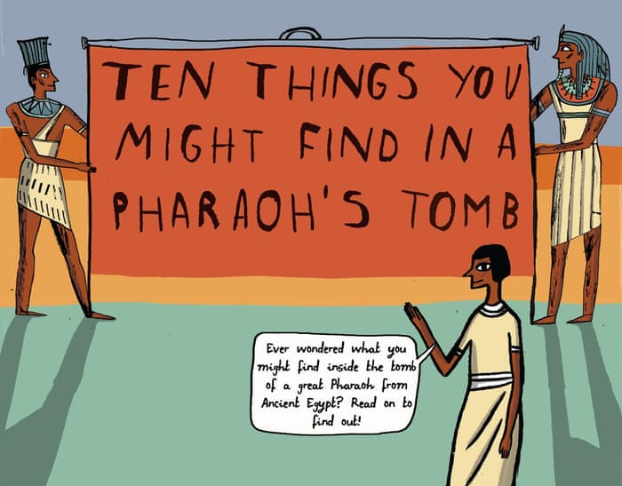 Top 10 Things You Might Find In A Pharaohs Tomb In Pictures
