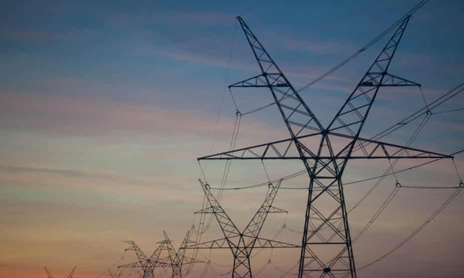 Transmission lines in Texas, originally built to service the oil fields, now take energy from the wind farms to cities including Dallas, Austin and San Antonio.