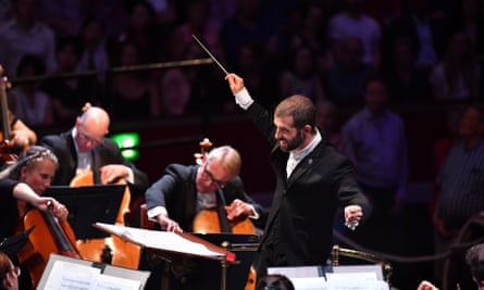 Omer Meir Wellber at the 2019 Proms.