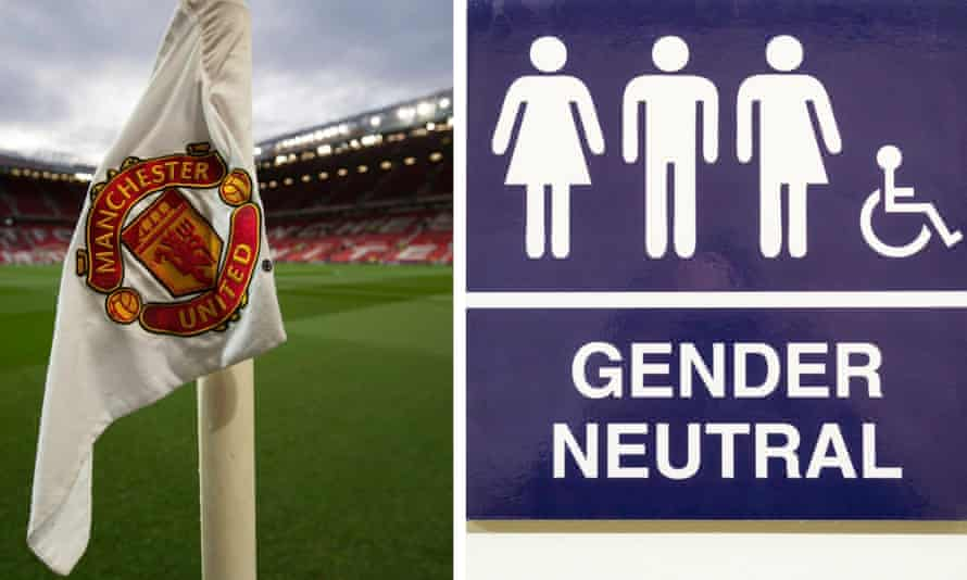 Manchester United are considering becoming the first top-flight club to introduce gender-neutral toilets.