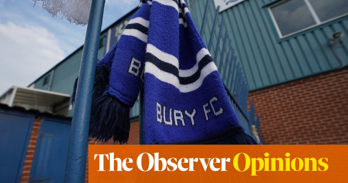 Turning our clubs into global brands means there will be more Burys | Jonathan Wilson