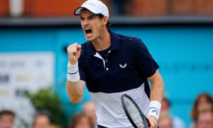 Andy Murray and Feliciano Lopez win the men's doubles final against Rajeev Ram and Joe Salisbury.
