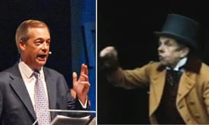 Nigel Farage and Neil Fromage in Year of the Rabbit.