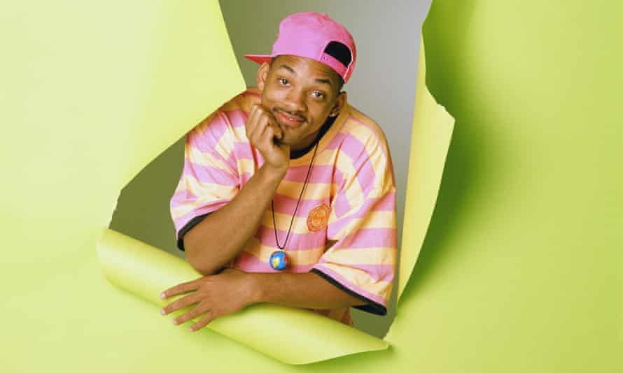 Will Smith in The Fresh Prince of Bel-Air, which ran for six seasons between 1990 and 1996.
