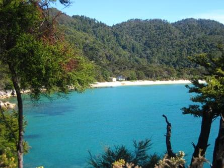 Bark Bay, part of New Zealand's Abel Tasman national park