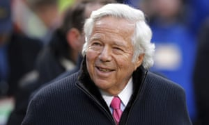 Robert Kraft has denied any wrongdoing
