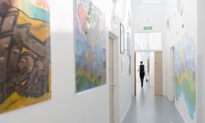 Paintings in a mental health unit