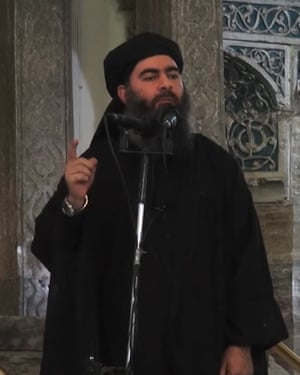 Abu Bakr al-Baghdadi is said to have survived the attack in September