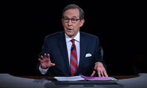 The Fox News anchor Chris Wallace struggled to maintain order in his role as moderator of Tuesday's debate.