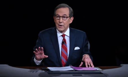 Fox News host Chris Wallace did his best to keep things tidy in his role as moderator of the debate on Tuesday.