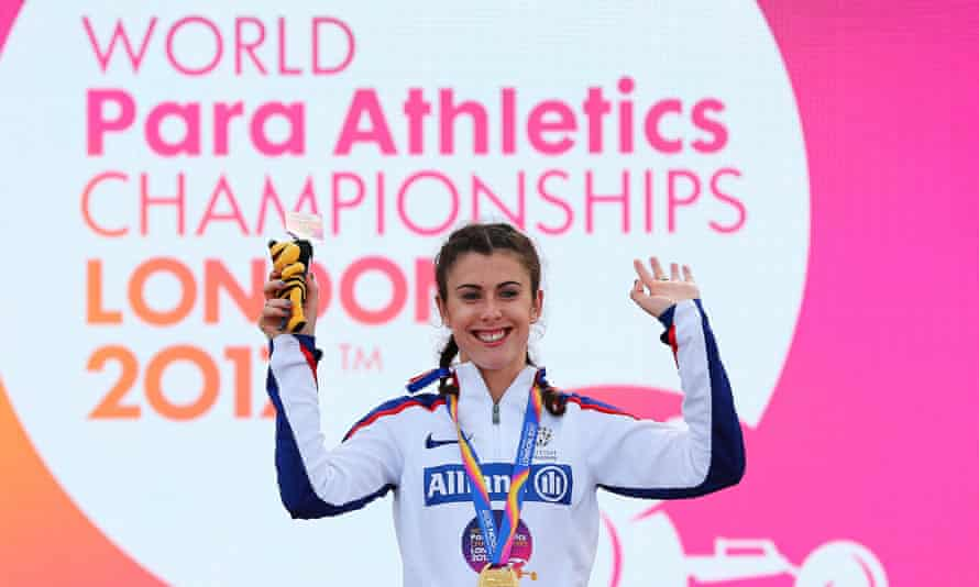 Paralympic athlete Olivia Breen, whose father alleged that other athletes abused the classification system