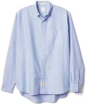 Archive Oxford shirt, £39.95, gap.co.uk.