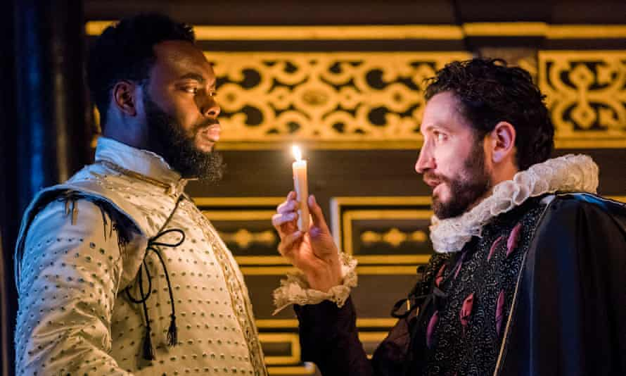 Dark trade … John Ballard (Abraham Popoola)n Ballard and Robert Pooley (Edmund Kingsley).