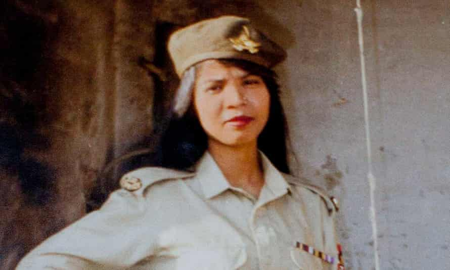 Asia Bibi in an undated photo provided by her family.