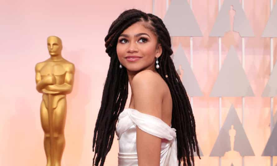 Zendaya at the Oscars.