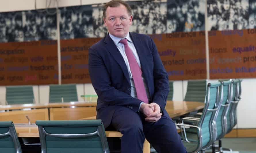 Damian Collins, the chair of the digital, culture, media and sport commitee