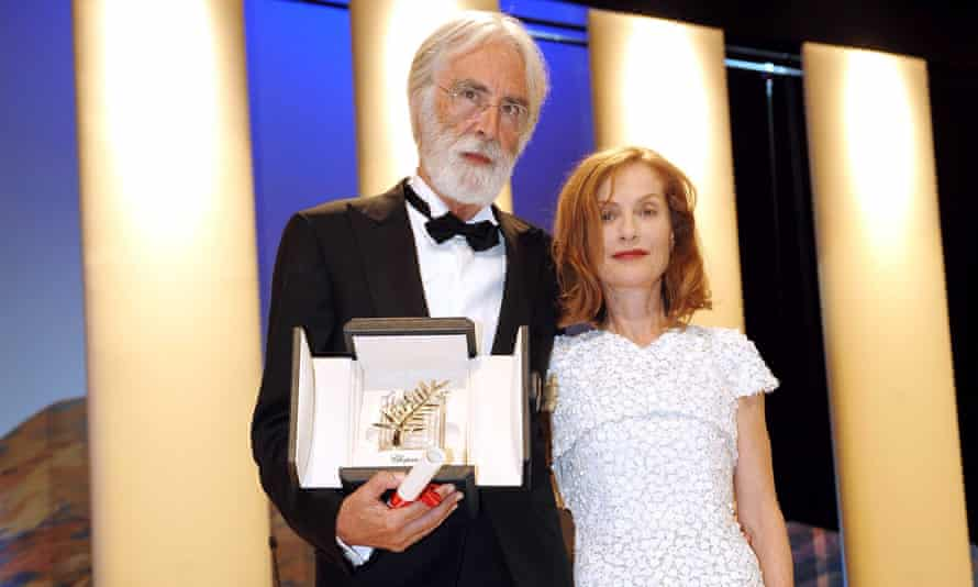 More Amour … Michael Haneke is set to make his fourth film with actor Isabelle Huppert.<br>