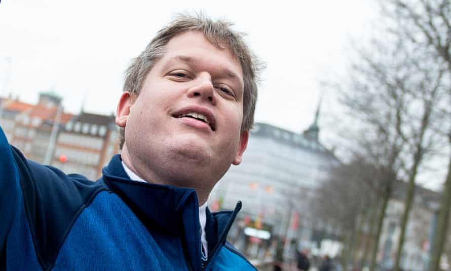 Stram Kurs leader Rasmus Paludan.