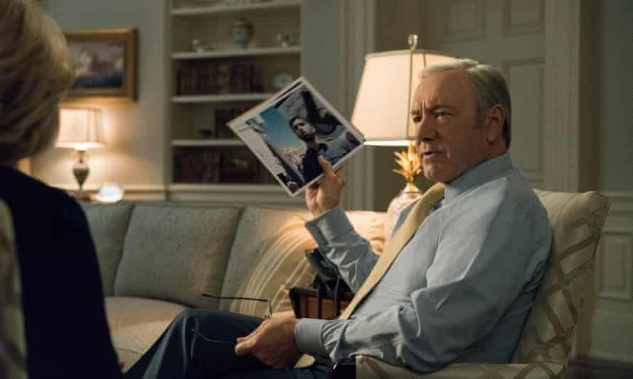 Kevin Spacey (Frank Underwood) in House of Cards
