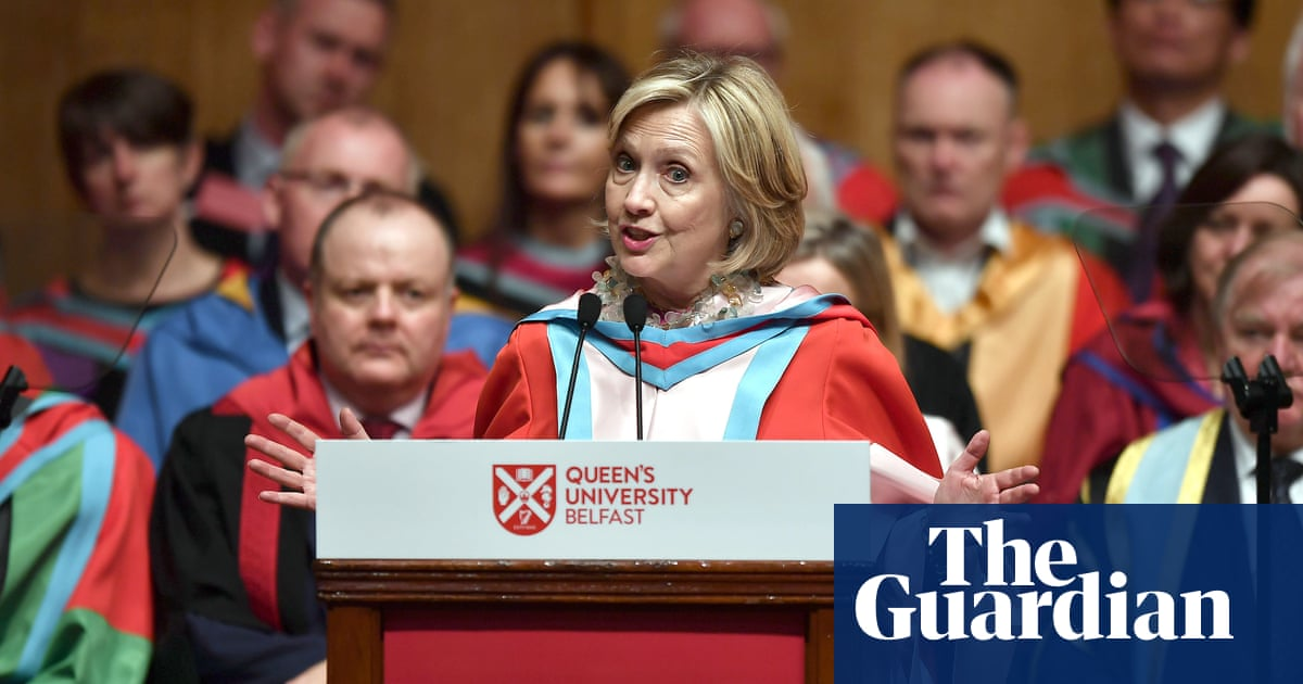 Hillary Clinton: 'Brexit could be biggest self-inflicted wound in history'