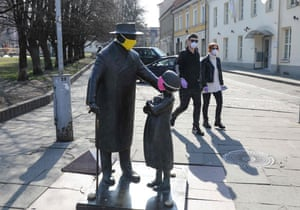Vilnius, Lithuania A statue dedicated to the Jewish doctor and activist Tsemakh Shabad
