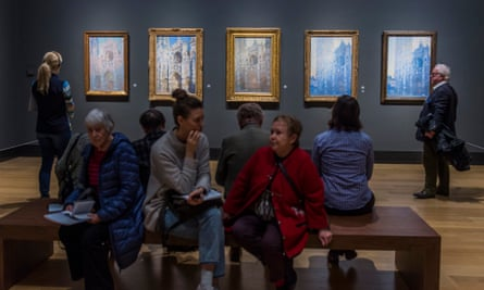 A Monet exhibition in the National Gallery.