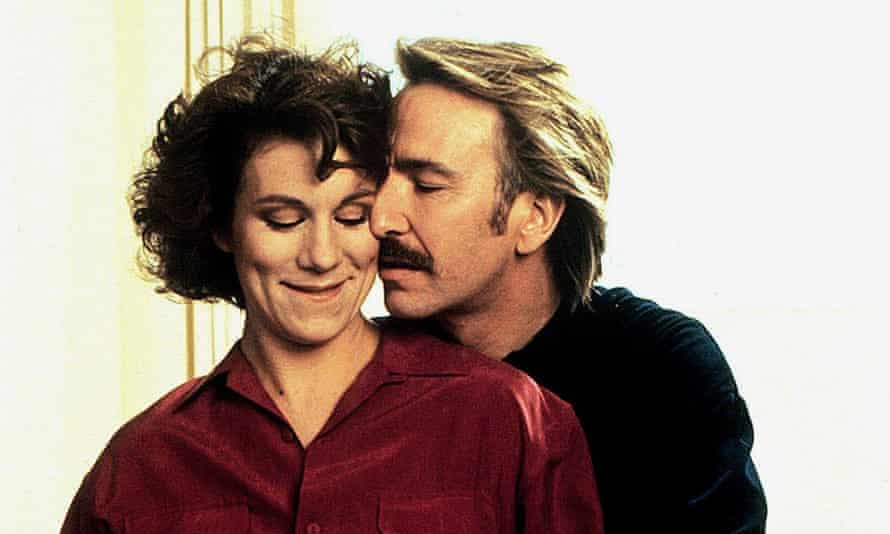Life after loss: Juliet Stevenson with Alan Rickman in 1990's Truly Madly Deeply.