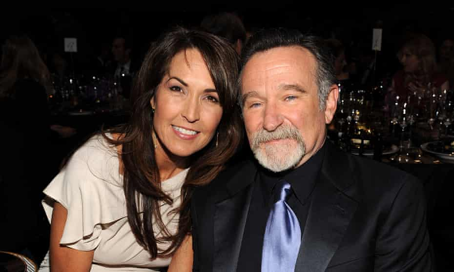 'It infuriated me when the media said he'd been drinking, because recovering addicts looked up to him and they deserve to know the truth' ... Robin and Susan Schneider Williams.
