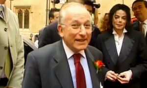 Lord Janner showing Michael Jackson around parliament in June 2002.