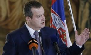 Serbian Foreign Minister Ivica Dačić