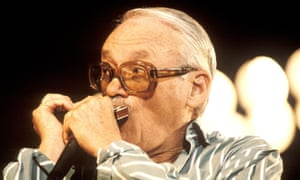 Toots Thielemans at the Jazz à Juan festival, Antibes, France, in 1987.