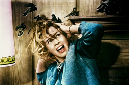 Tippi Hedren in the 1963 film The Birds