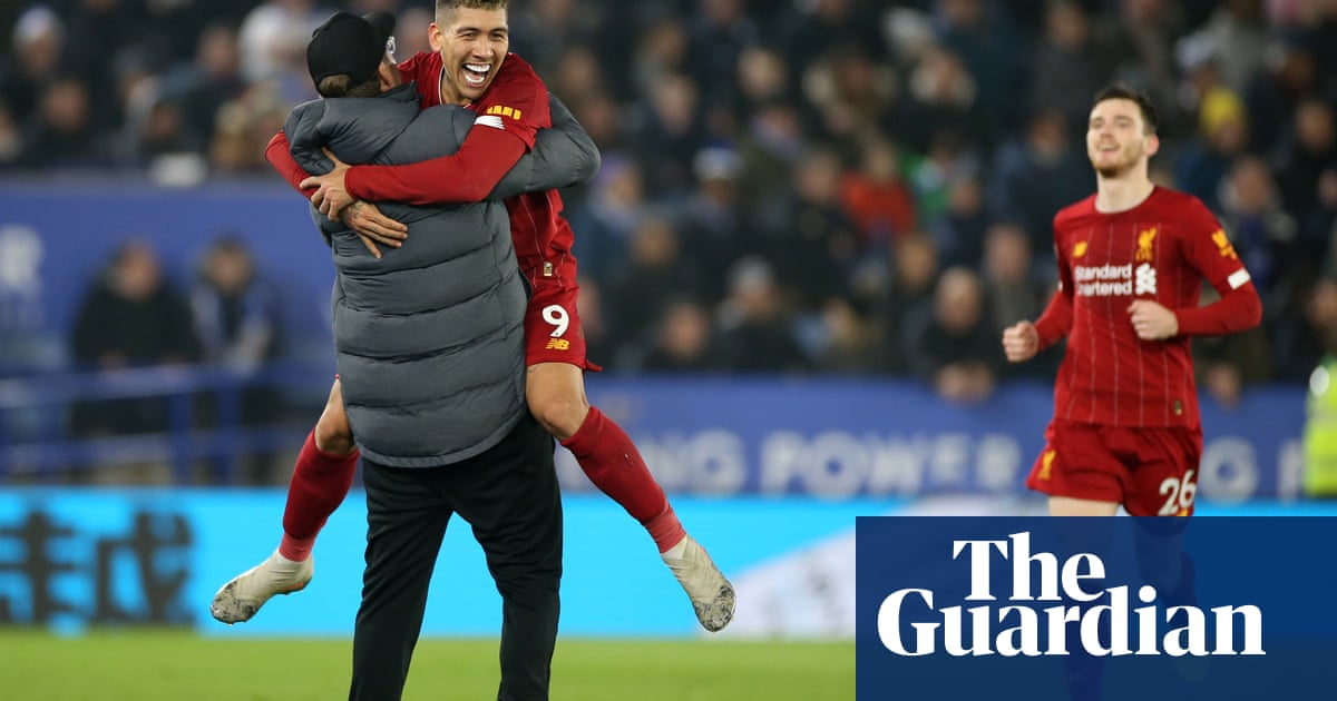 Liverpool go 13 points clear as Roberto Firmino leads ruthless rout of Leicester